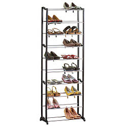 Стойка для обуви «Amazing Shoe Rack» на 30 пар Black