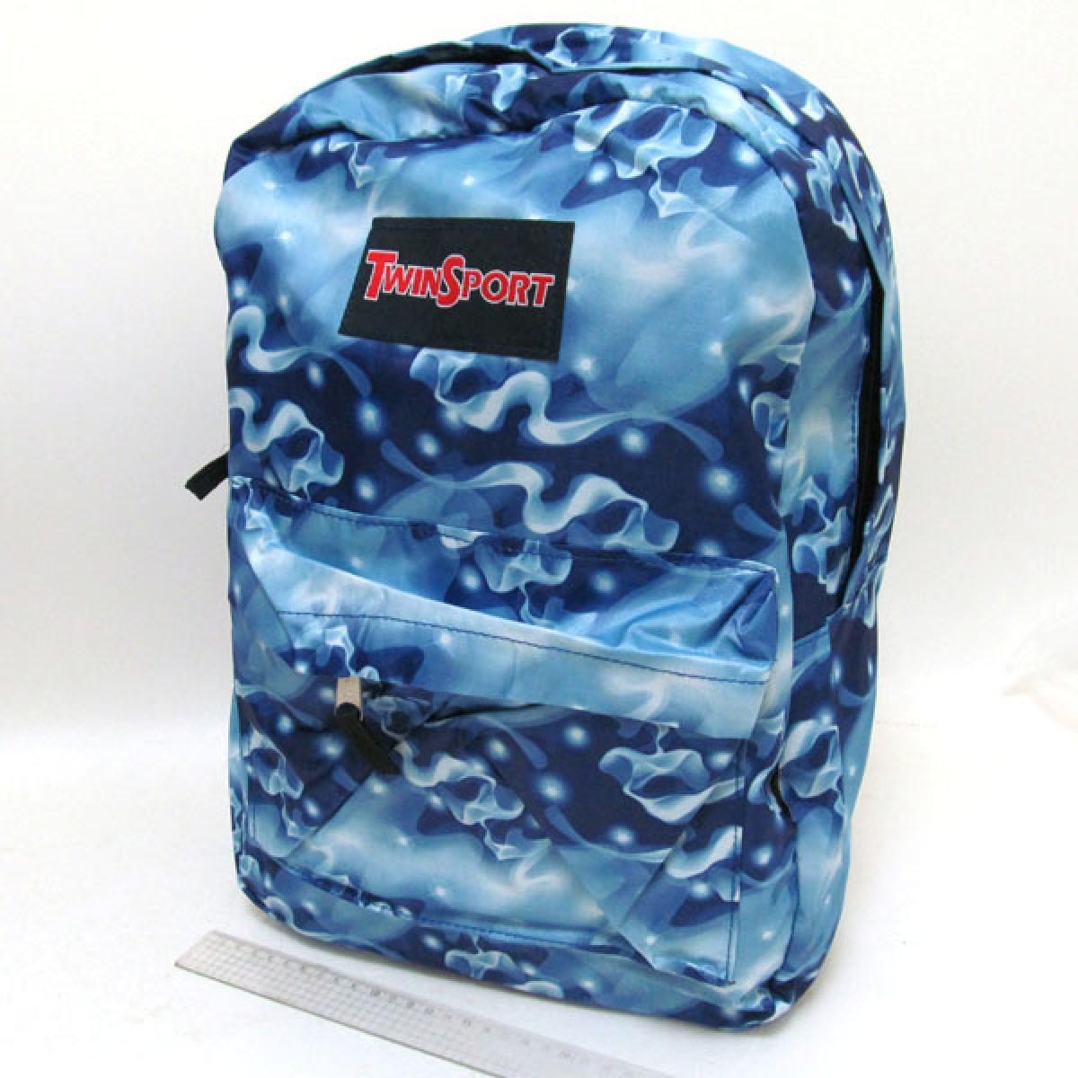 "Рюкзак с карманом, ""Дымка"", 42*30*13 см, 2011-1"