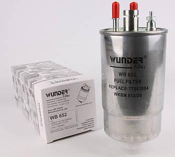 Фильтр топливный Fiat Doblo 1.3JTD  (WB-652)  Wunder