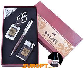 Подарочный набор брелок/ручка/зажигалка Jack Daniel's (Острое пламя) №ST-5622B