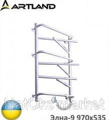 Электрический полотенцесушитель ARTLAND Элна-9 белый 970х535. Украина.