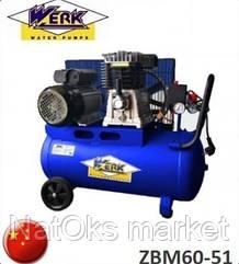 Компрессор Werk ZBM60-51. Китай.