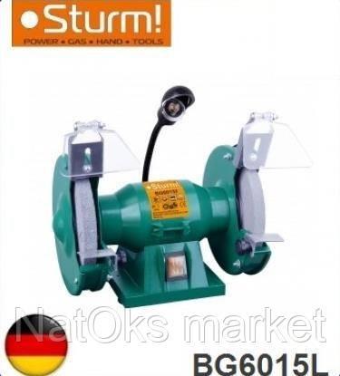 Точильный станок Sturm BG6015L. Германия.