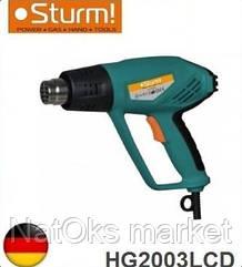Фен строительный Sturm HG2003LCD. Германия.