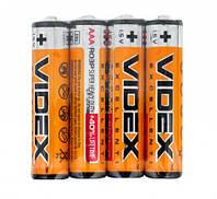 Батарейка солевая Videx R6P/AA 4pcs SHRINK