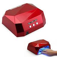 Лампа для ногтей UV LAMP CCF+LED сушилка универсальный аппарат