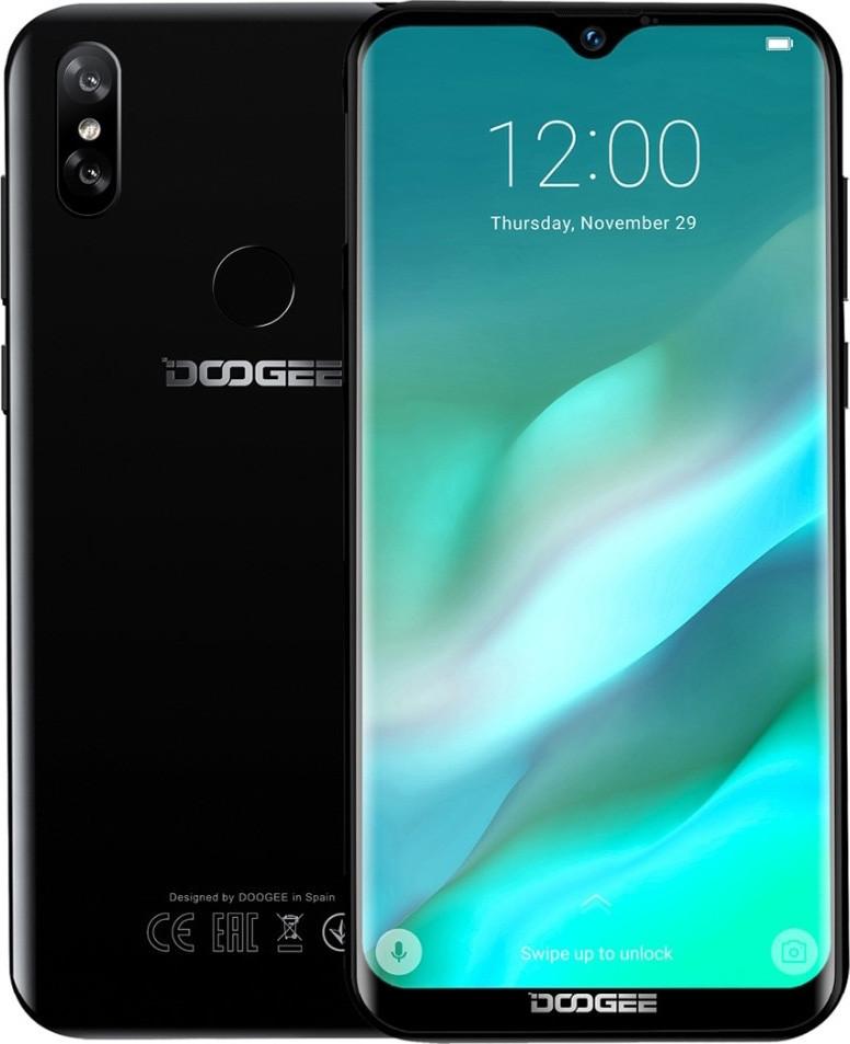 Смартфон Doogee Y8 3/16Gb Midnight Black