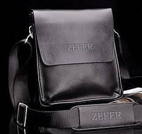 Мужская кожаная бизнес сумка ZEFER