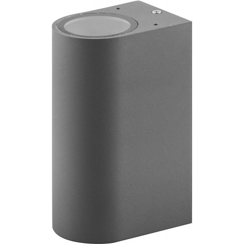 Настенный светильник Feron DH015 230V без лампы MR16/GU10*2 Серый