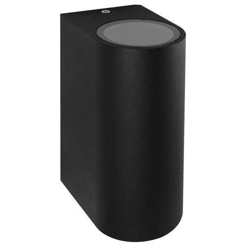 Настенный светильник Feron DH015 230V без лампы MR16/GU10*2 Черный
