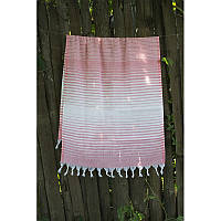 Полотенце Lotus Pestemal - Light-pink 05 75*150 Micro stripe