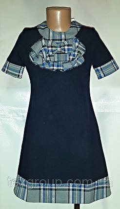Школьное красивое платье для девочек ШФ-С-01, фото 2