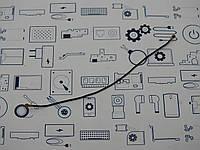 Кабель антенны Meizu U10 (U680H) Сервисный оригинал с разборки