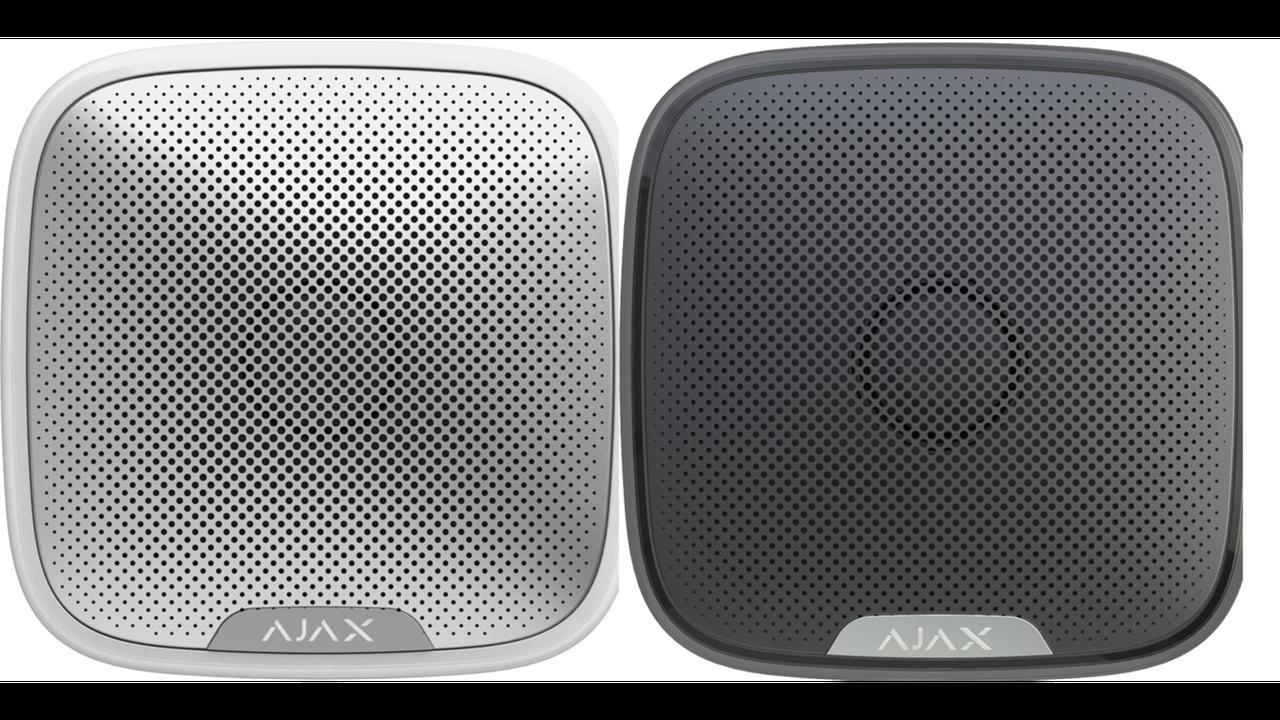 Сирена светозвуковая Ajax StreetSiren (white)