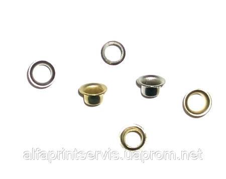 Заклепки 5,5 мм, золотые, уп/1000