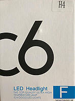 C6H4 комплект 2 штуки LED лампы светодиодные H4 головное освещение ближний дальний