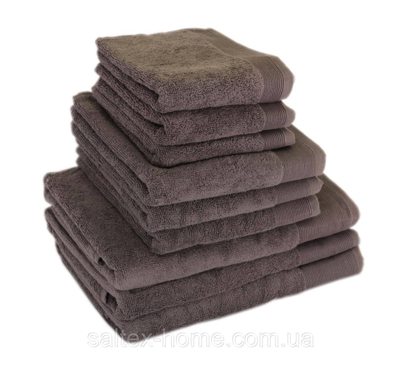 Махровое полотенце для волос 50х90см, Индия, 500 г/м