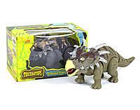 Динозавр Трицераторпс ходит, музыкальный со светом