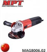 Болгарка MPT MAG8006.02. Китай.