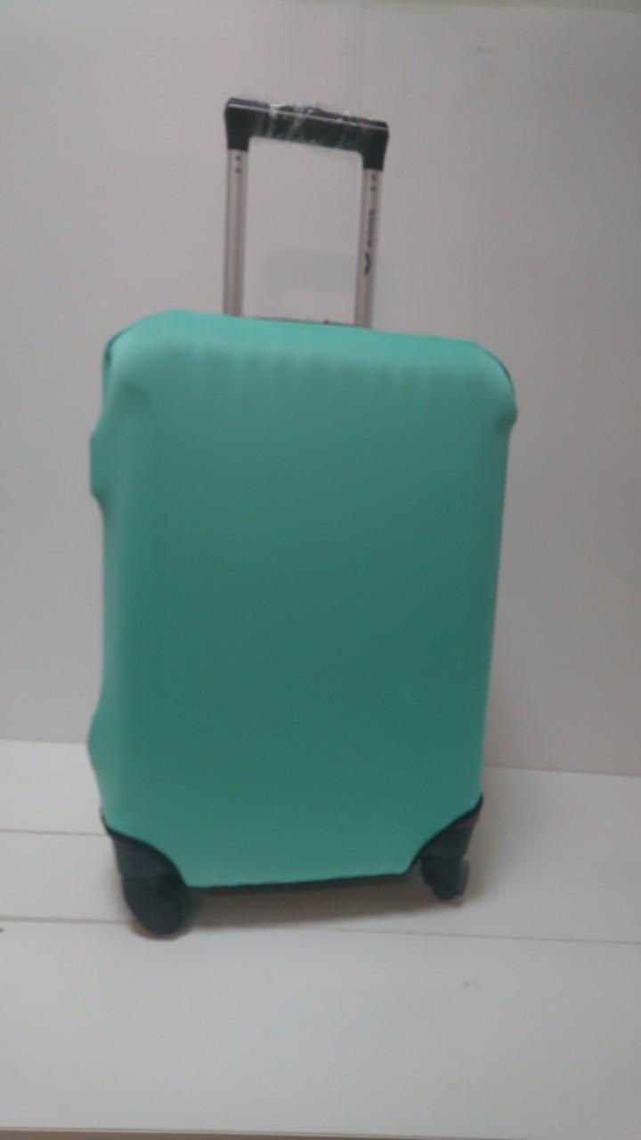Чехол на чемодан микродайвинг размер M, Мятный