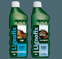 Lignofix TOP-Profi 0,5л / Антисептик для ликвидации поражений и профилактической защиты древесины