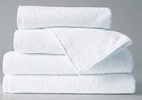 """Махровое полотенце """"Отель"""" 50х90см, Индия, 500 г/м, белого цвета"""