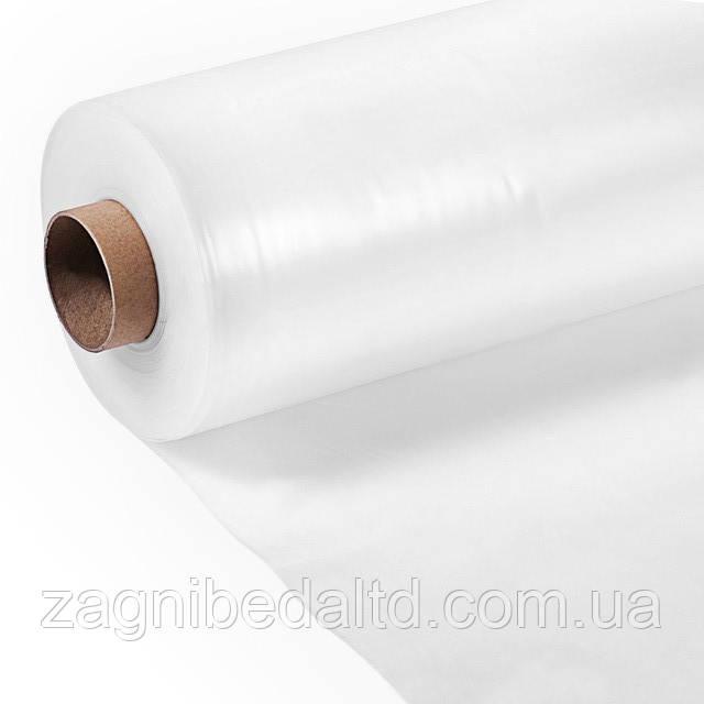 Прозрачная полиэтиленовая  пленка  универсальная 100 мкм 2 м х 100 пог.м