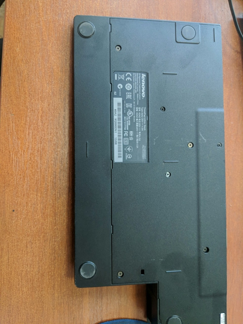 Док станция SD20A06037 ThinkPad Ultra Dock 90W без ключа б/у L440, L540, T440s, T440, T440p, T540p, X240