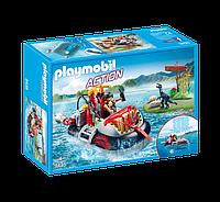 Playmobil 9435 Пираты на лодке и динозавр