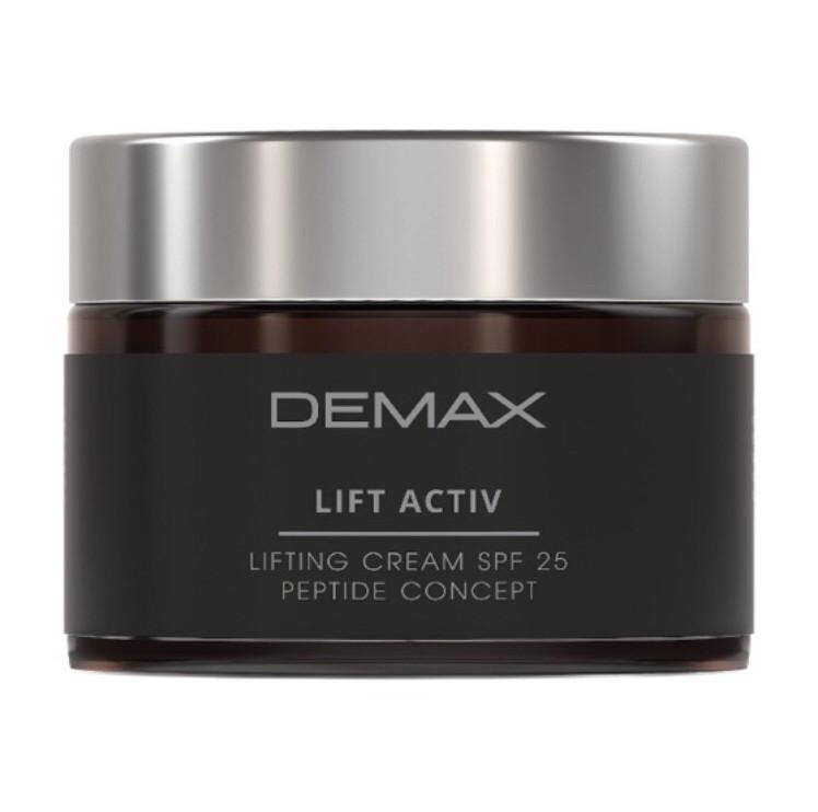 Крем для лица лифтинг «пептид концепт» Demax  spf 25 Lift activ lifting cream spf 25 50ml арт.230