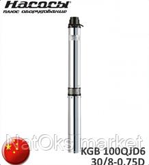 Насос погружной Насосы плюс оборудование KGB 100QJD6-30/8-0,75D + пульт.