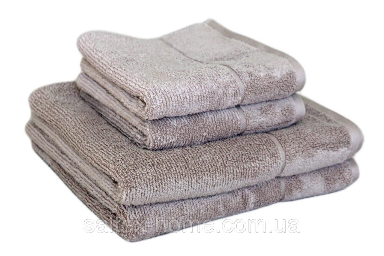 "Махровое полотенце ""SPA"" 70х140см, Индия, 450 г/м, льняного цвета"