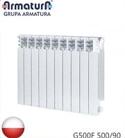 Радиатор алюминиевый ARMATURA G500F 500/90. Польша.
