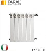 Радиатор алюминиевый FARAL FLY 500/80. Италия.