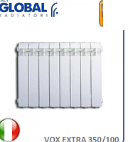 Радиатор алюминиевый GLOBAL VOX EXTRA 350/100. Италия.