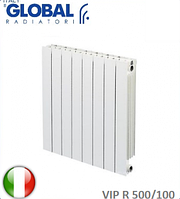 Радиатор алюминиевый GLOBAL VIP R 500/100. Италия.