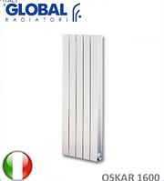 Радиатор алюминиевый GLOBAL OSKAR 1600. Италия.