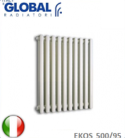 Радиатор алюминиевый GLOBAL EKOS 500/95 (дизайнерский). Италия.
