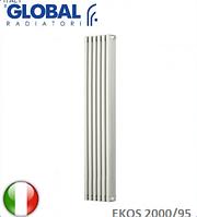 Радиатор алюминиевый GLOBAL EKOS 2000/95 (дизайнерский). Италия.