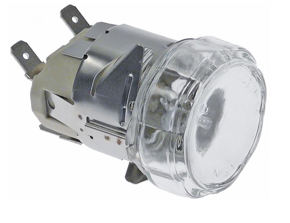 Плафон с лампой в комплекте KVE1480A для печи UNOX XF023 / XF043