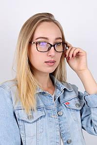 Очки имиджевые TF8709 коричневые (TF8709)