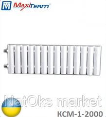 Стальной секционный радиатор MaxiTerm КСМ-1-2000 (боковое подключение, 1438 Вт). Украина.