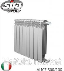 Радиатор биметаллический SIRA ALICE 500/100. Италия.