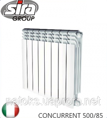 Радиатор биметаллический SIRA CONCURRENT 500/85. Италия.