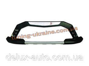 Накладки на бампер передние и задние для Jac S5 2013+