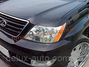 Реснички на фары Lexus GX-470 2002-09