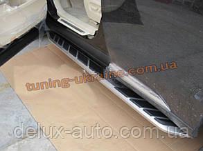 Пороги боковые оригинал на Lexus RX 2012+