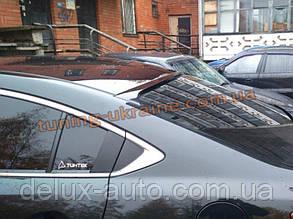 Задний спойлер на Mazda 6 2013+