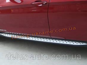 Пороги боковые оригинал в BMW Style для Mazda CX-5