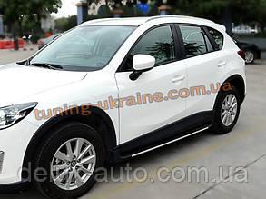 Рейлинги  оригинал European Design на Mazda CX-5 2011+